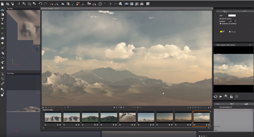 Creating a Photorealistic Vue Render