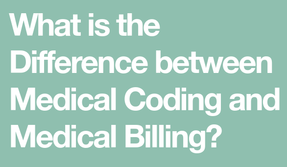 Difference Between Medical Coding and Billing