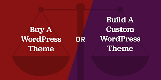 Understanding The Pros and Cons Of a Pre-Built and Custom WordPress Theme