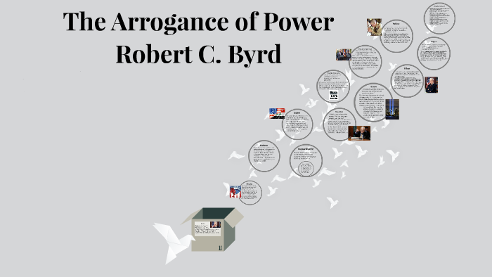 "Rhetorical Devices in Robert C Byrd's ""The Arrogance of Power"""