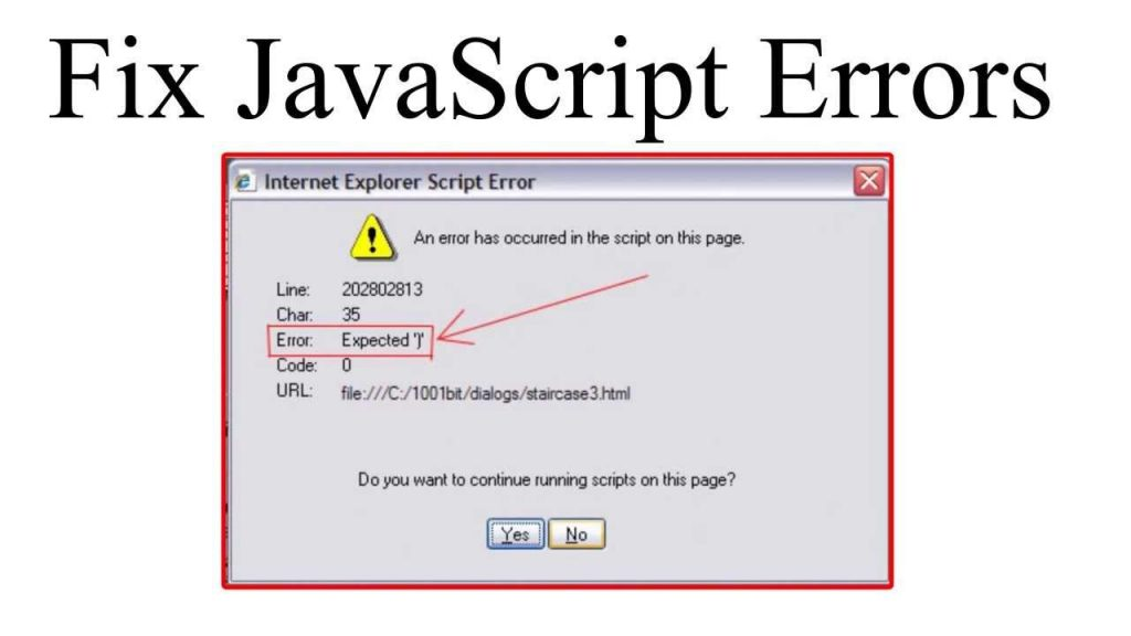 Tips and Tricks You Need to Know About a JavaScript Error