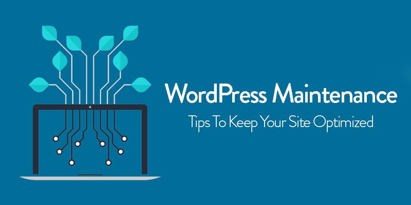 WordPress Maintenance: Tips for WordPress Website Maintenance