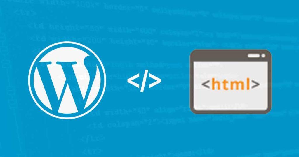 What Do I Do: WordPress or HTML?
