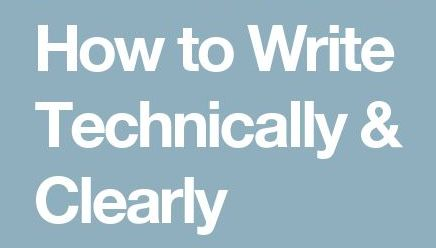 How to Write Technically for the Lay Person