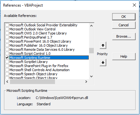 Using VBA To Search And Retrieve Data From A Text File Containing A Code Library