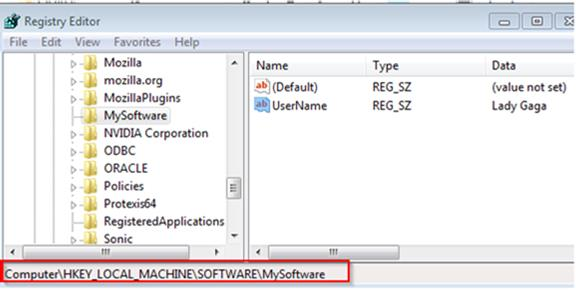 How to Access Windows Registry From Java