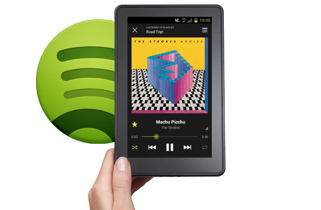 Kindle Fire and Spotify Extend Their Mobile Music Reach!