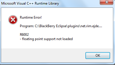 Runtime Error R6002 – Causes and How to Fix it Easily