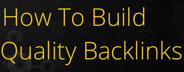 Use Article Marketing to Build Quality Backlinks Quickly