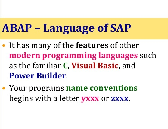 What Are the Advantages of ABAP That Make It the Fundamental Language?