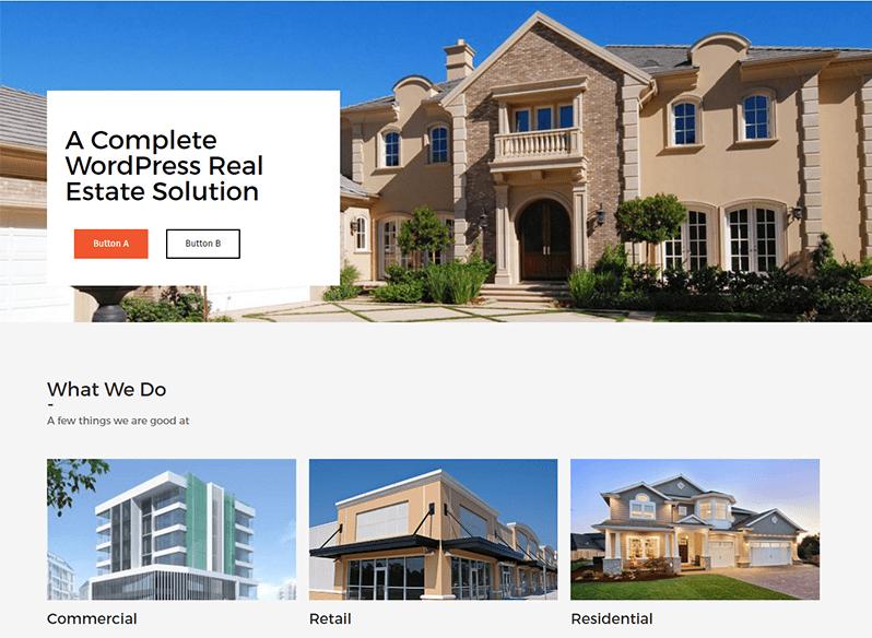 WordPress Real Estate